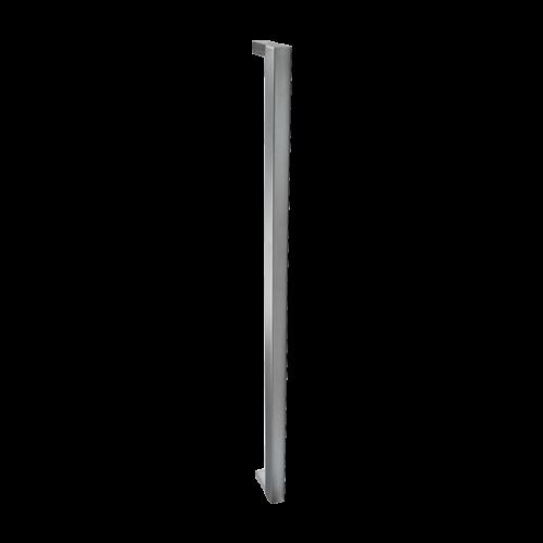 <b>MANIGLIONE SQUARE</b><br>L=1020 mm<br>Acciaio inox lucido, acciaio inox satinato